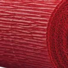 Dark Red Florist Crepe Paper