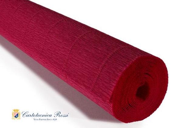 Italian Crepe Paper - 180g roll - 586 Carminio Red