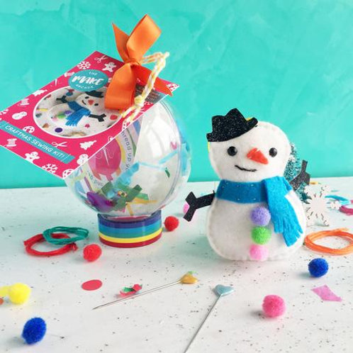 Felt Snowman Bauble Craft Kit