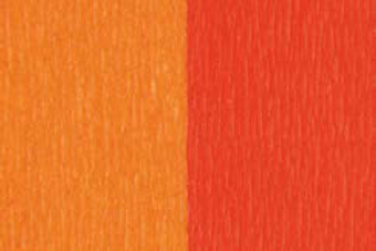 Doublette Crepe Paper - Yellow/Orange