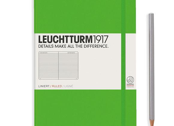 Leuchtturm1917 Medium Hardcover A5 Ruled