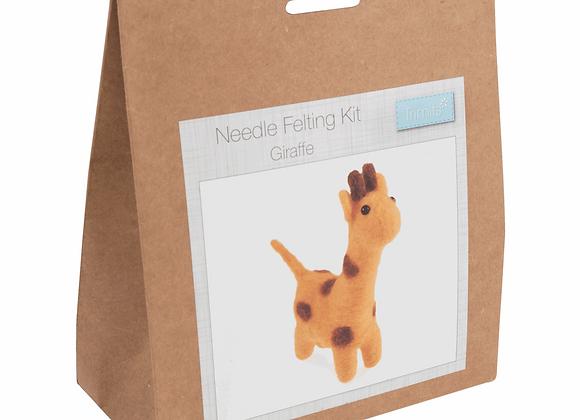 Needle Felting Kit : Giraffe