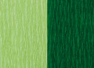 Doublette Crepe Paper - Lime Green/Moss