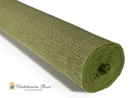 Italian Crepe Paper - 180g roll -562 Sage Green