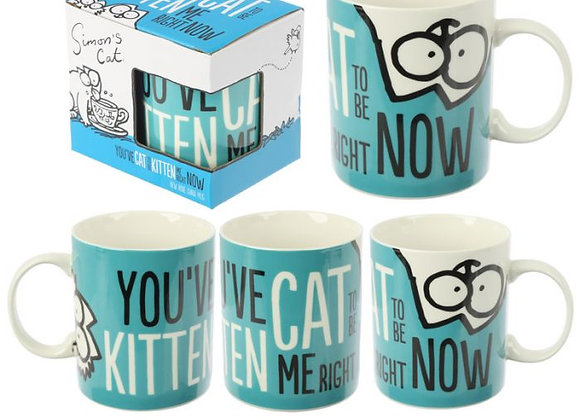 "Simon's Cat ""You've got to be kitten me"" Mug"