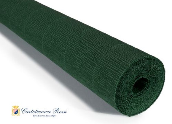 Italian Crepe Paper - 180g roll -561 Forest Green