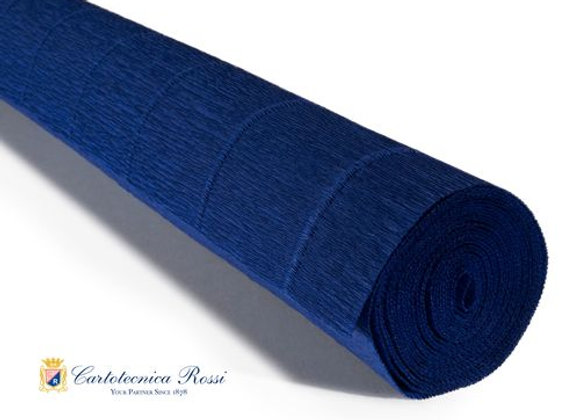 Italian Crepe Paper - 180g roll - 555 Midnight Blue