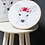 Thumbnail: Deer with flower embroidery kit