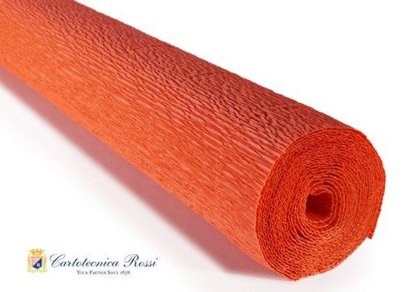 Italian Crepe Paper - 180g roll -17E6 Intense Orange
