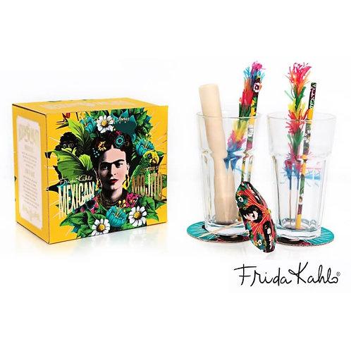 Frida Kahlo Mojito Cocktail Set
