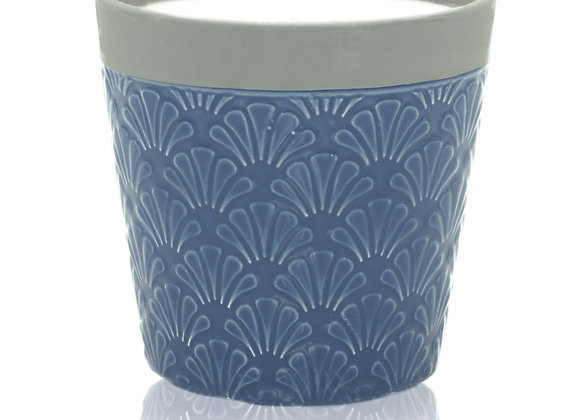 Home is Home Candle Pot - Blue Day