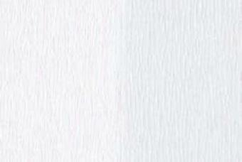 Doublette Crepe Paper - White/White