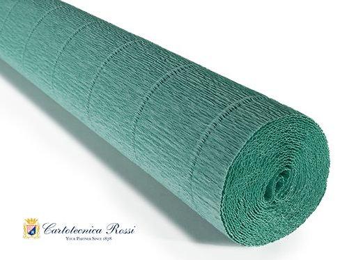 Italian Crepe Paper - 180g roll - 17E4 Tiffany Green