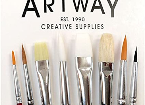 Artway 8 piece brush set