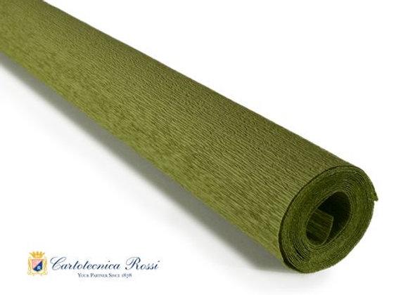Italian Crepe Paper - 90g roll - 366 Light Olive Green