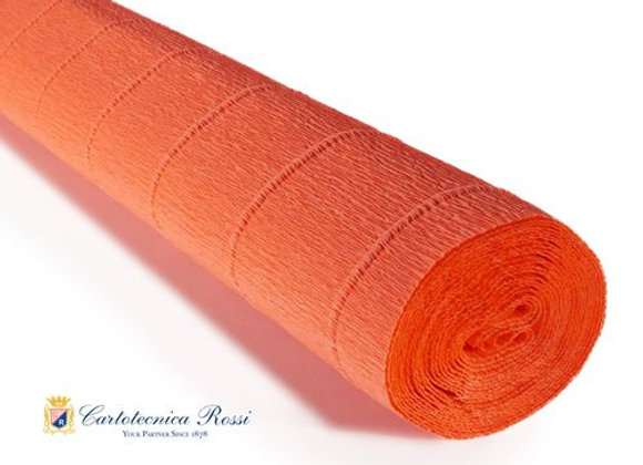Italian Crepe Paper - 180g roll - 581 Orange