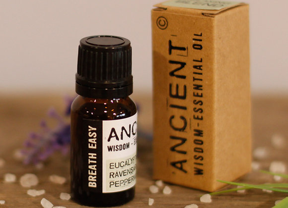 Breathe Easy Essential Oil Blend - Boxed - 10ml