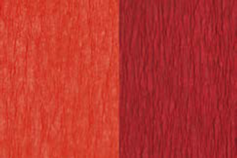 Doublette Crepe Paper - Red/Carmine Red
