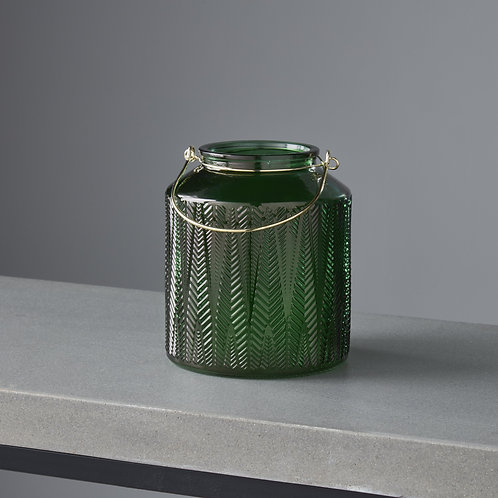 Green Gold Candle Holder