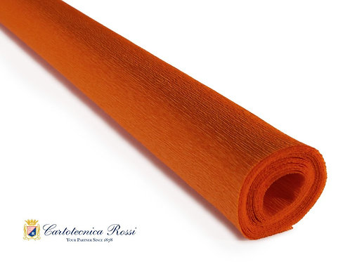 Italian Crepe Paper - 90g roll - 374 Deep Orange