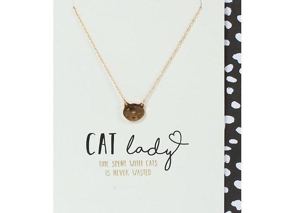 Cat Lady Birthday Card