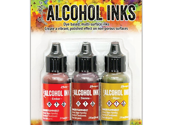 Tim Holtz Alcohol Inks -Orange/Yellow