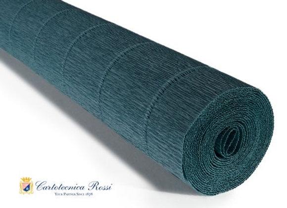 Italian Crepe Paper - 180g roll - 560 Dark Teal Green