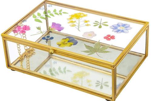 Pressed Flower Jewellery Box