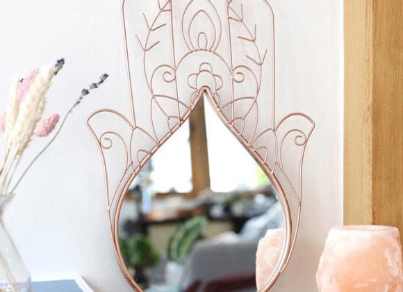 Hamsa Hand Wall Mirror
