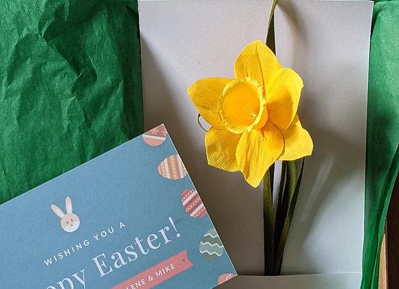 Easter Daffodil Gift Box