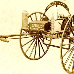 A Short History of the Hand Drawn Hose Reel