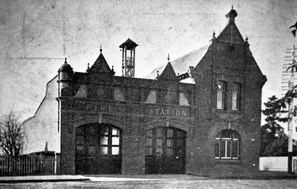 Ashfield Fire Station, c. 1910