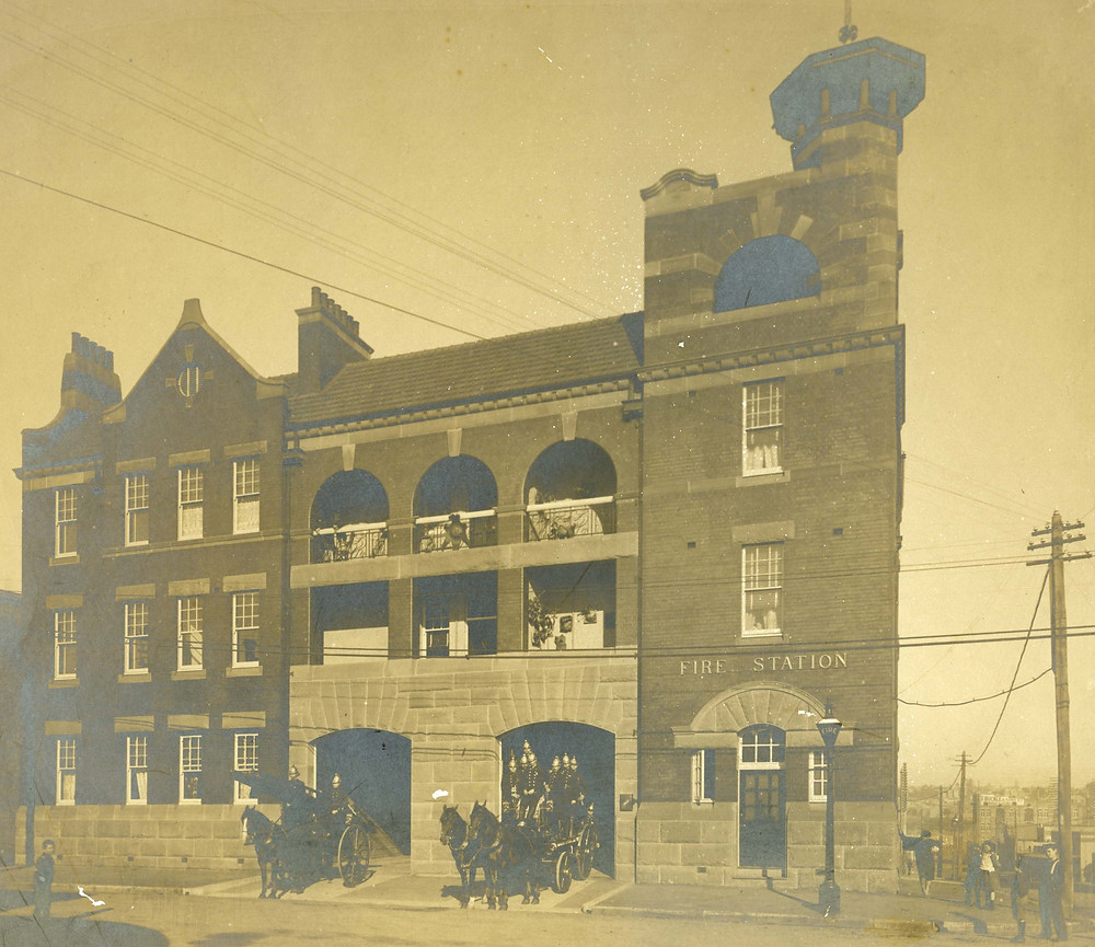Pyrmont Fire Station, c. 1906