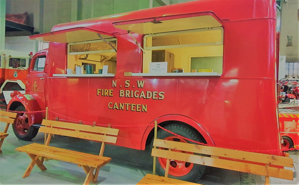 The canteen on display at the Museum today