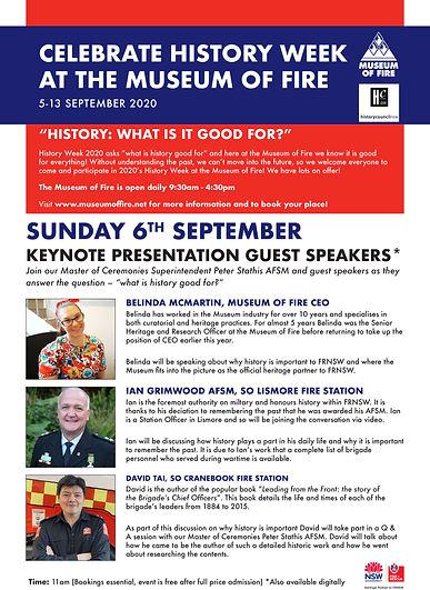 Museum_History Week_SUNDAY 6TH speaker p