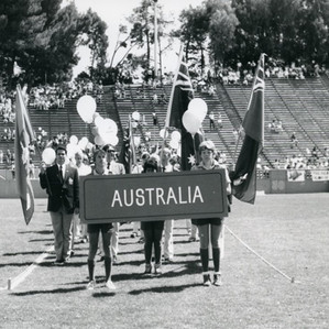 Going for Gold at the First World Police and Fire Games, 1985