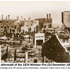 The Great Windsor Fire of 1874