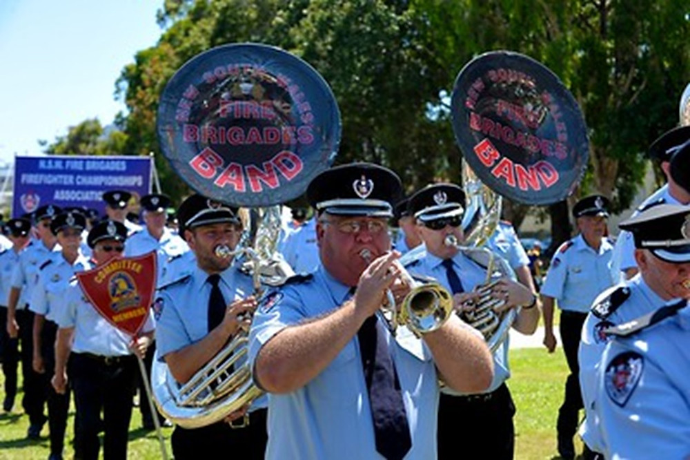 Our Fire Brigade Band a regular highlight at State Championships