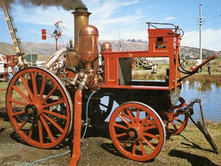 Shand Mason and Co.'s Steam Fire Engine in Australia