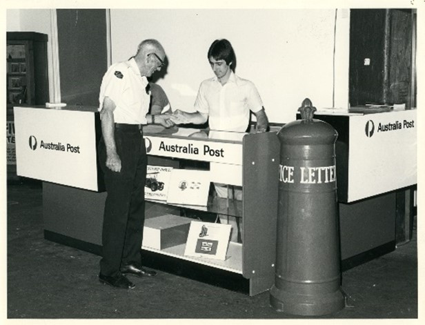Temporary Post Office in the Museum, 1983