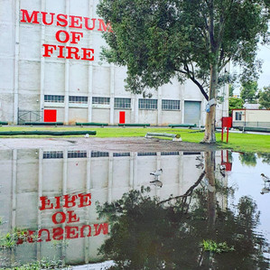 When Flood Comes to the Museum of Fire