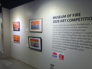 Creating an Art Exhibition - Museum of Fire 2020 Art Competition