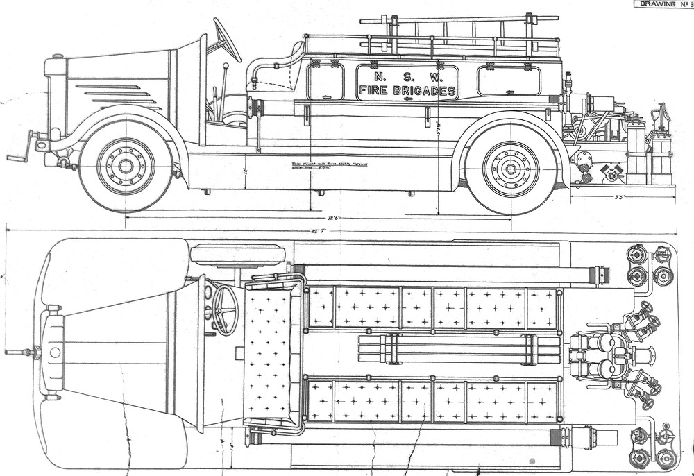 "NSWFB drawing of a ""Braidwood"" style body for the ""Big 4""."