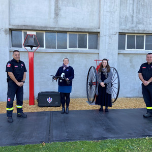 'RPAS01 BEAR' Touches Down at the Museum of Fire