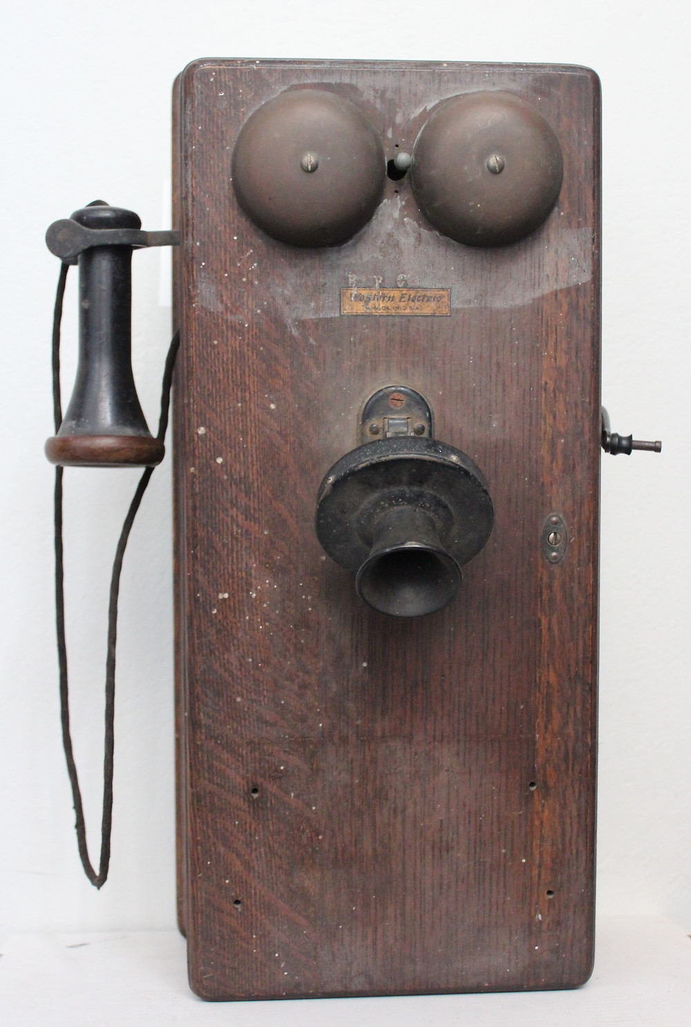 The Western Electric wall telephone from the Museum's collection