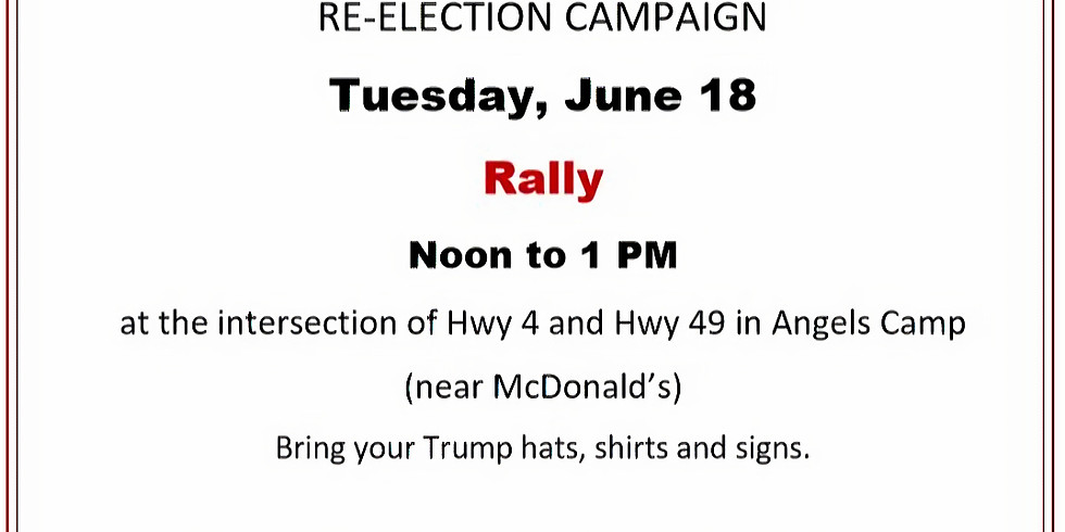Rally for President Trump