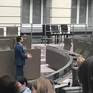 Pedagogische studiedag bezoek aan het Vlaams Parlement
