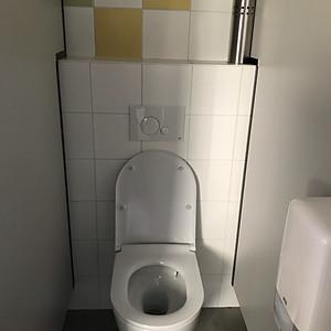 Renovatie van onze toiletten
