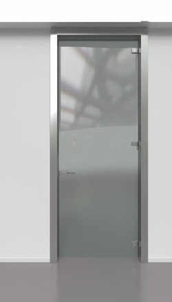 Wall Frame & Glass Door