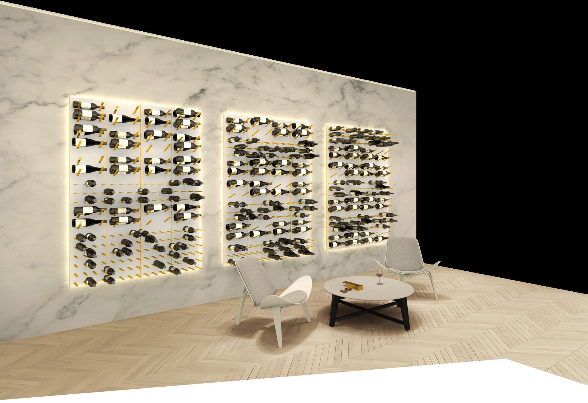 Wall Wine Display